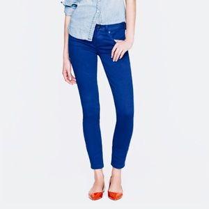 ❗️J. Crew Toothpick Ankle Purple Jeans MSRP $118!